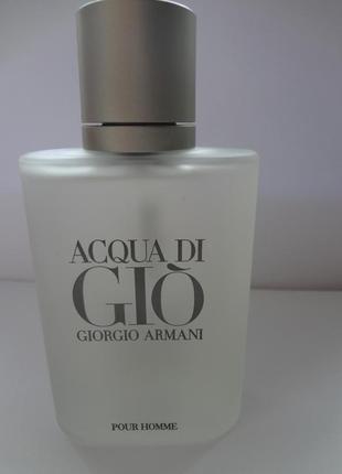 Giorgio armani acqua di gio pour homme туалетная вода 100 мл тестер оригинал