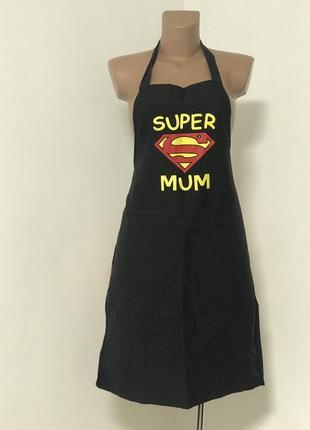 Супер фартук для супер мамы , super mum