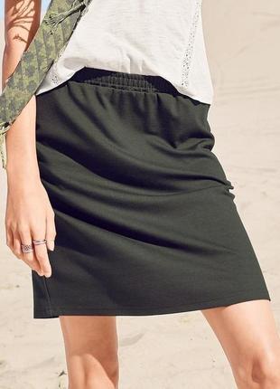Стильная юбка джерси от тсм чибо германия , 46-48