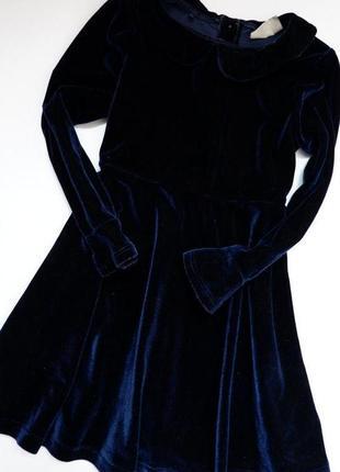 🌈велюрова сукня next 3-4/104