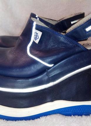 Ботинки, сабо, закрытые босоножки, туфли на высокой платформе, танкетке