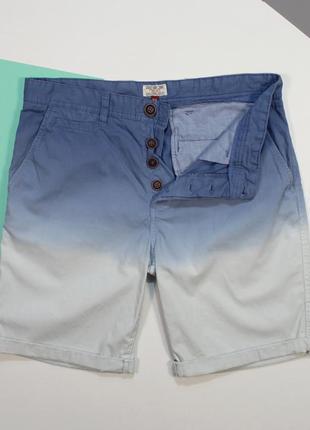Классыне чиносные шорты с тусклой принтовкой и переходом цвета от next