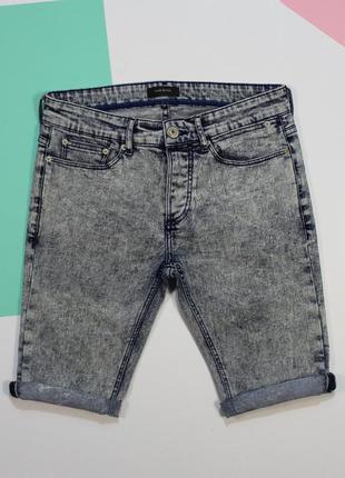 Сочные вареные джинсовые шорты от river island
