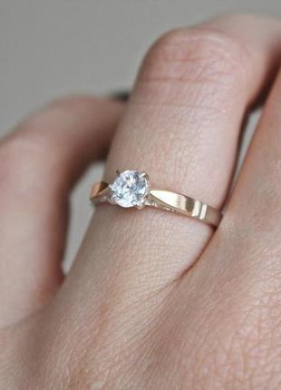 """Шикарное серебряное кольцо с золотыми пластинами """"аризона"""" р 17-17,5"""