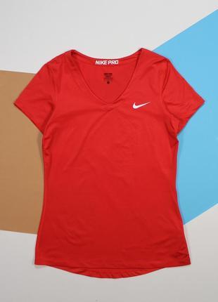 Женская футболка для занятий спортом от nike pro