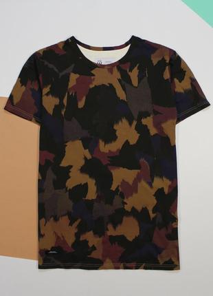 Классная футболка с нестандартным камо-принтом от son of wild