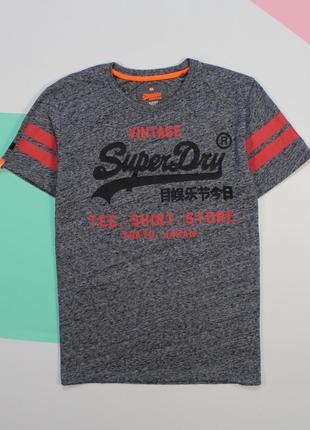 Крутейшая футболка в меланж от superdry