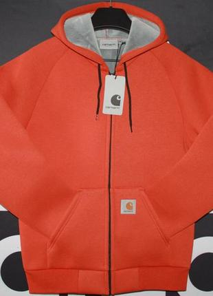 Мужское худи carhartt car-lux hooded jacket s