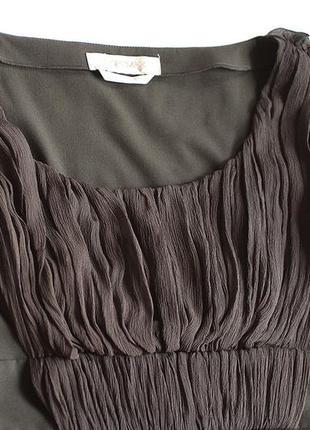 Брендовые вещи! универсальное базовое черное коктейльное платье sportmax (max mara), р. 38