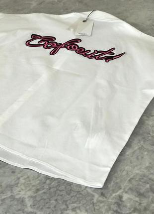 Белоснежная рубашка с контрастной вышивкой на спине  bl1916116  mango2 фото