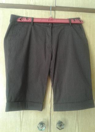 Катоновые коричневые шорты, 42/ xl.