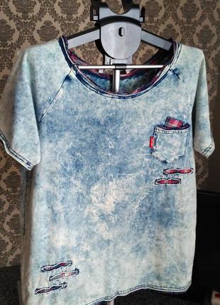 Rita fink jns крутая фирменная футболка варёнка