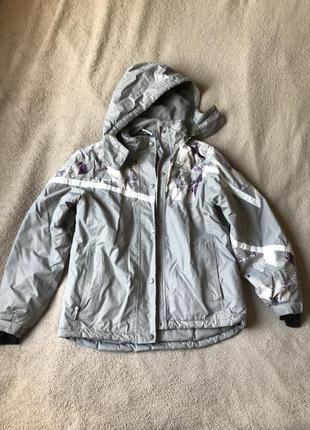 Куртка зимняя лыжная австрийского бренда kidz alive