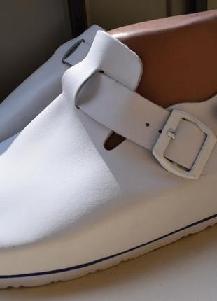 Ортопедические кожаные шлепанцы шлепки сланцы тапки