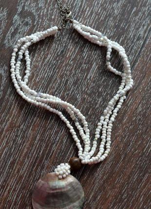 Стильный кулон ожерелье