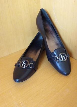 Туфли-лодочки-балетки- hogl-австрийское качество-брендовая обувь