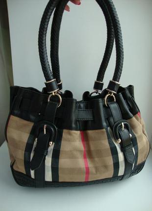 Люкс бренд!!!! фірмова сумка відомого бренду burberry!!! оригінал!!!4 фото