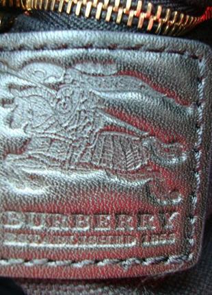 Люкс бренд!!!! фірмова сумка відомого бренду burberry!!! оригінал!!!8 фото