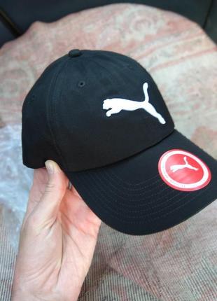Бейсболка puma новая оригинал черная кепка блейзер