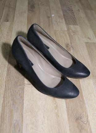 Шикарні туфлі ecco оригінал шкіра кожа туфли