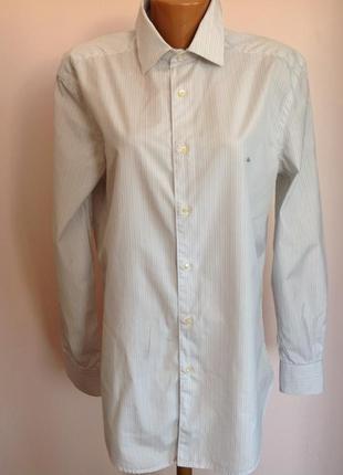 Мужская фирменная рубашка. /41/ brend lacoste