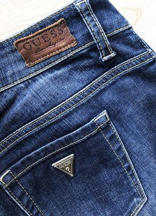 Синие джинсы guess skinny