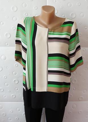 Красивая блуза футболка с коротким рукавом