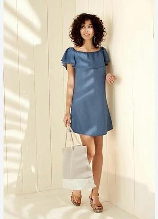 Красивое летнее платье esmara германия. р.40 европ.