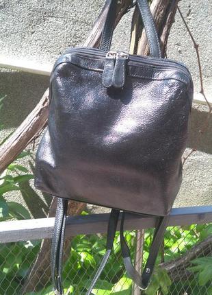 Рюкзак натуральная кожа 23*29