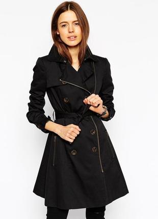 🌹плащ куртка maddison чёрный c-m