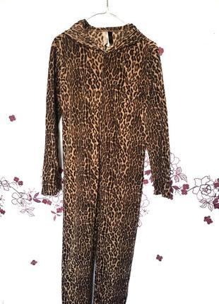 Пижама кигуруми леопард   - акция 1+1=3 на всё 🎁