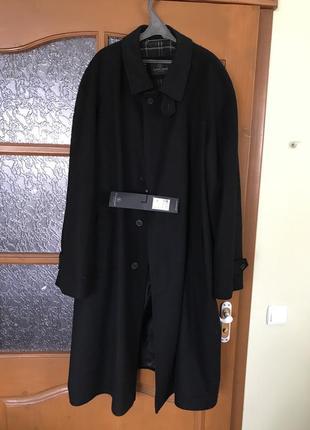 Демисезонное  кашемировое пальто для представительных мужчин