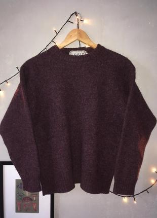 Шерстяной свитер tonio rizzi 100% шерсть