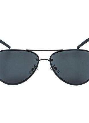 Мужские солнцезащитные очки с поляризацией 400 uva черные