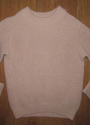 Фирменный свитер h&m девочке 4-6 лет