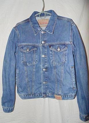 Куртка джинсовая guess оригинал