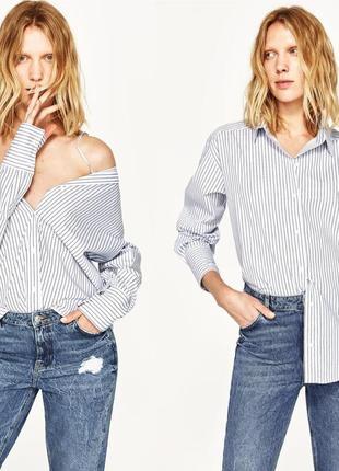 Zara рубашка-трансформер , м
