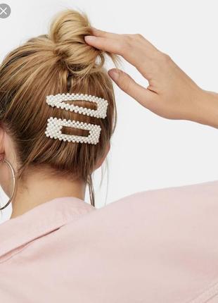 Заколка для волос с жемчугом тренд 2019 новая украшения для волос