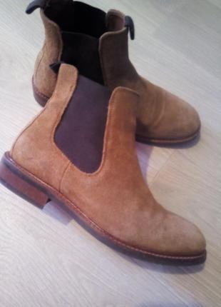 Ботинки брендовые кожа