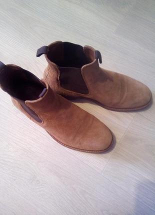 Ботинки брендовые кожа fashion point2 фото