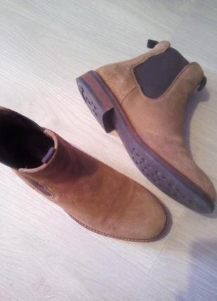 Ботинки брендовые кожа fashion point3 фото