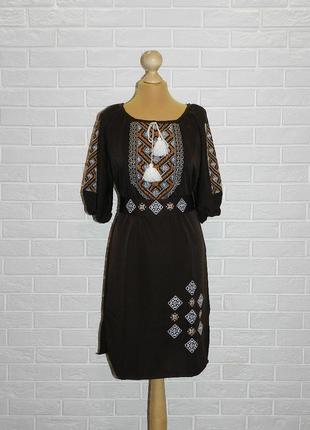 Платье-вышиванка арт.404 р.50