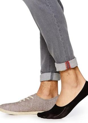 Набор мужских носков, следы,2 пары livergy. германия р 39 - 42,43 - 46