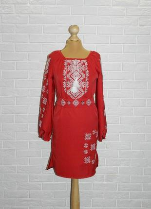 Платье-вышиванка арт.409 р.42-44