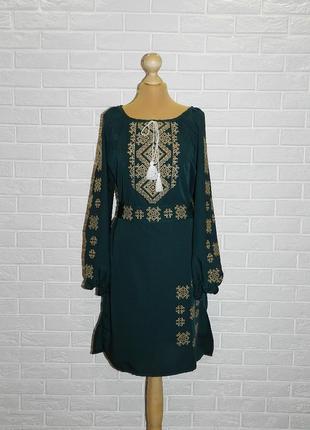 Платье-вышиванка арт.412 р.50,52