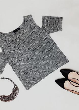 Стильный топ/блуза с открытыми плечами