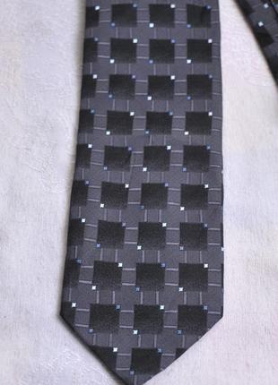 Стильный  фактурный галстук carlo palazzi