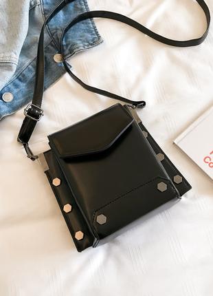Стильная сумочка,ремень через плечо, кросс-боди