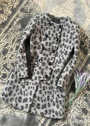 Стильное  теплое пальто only