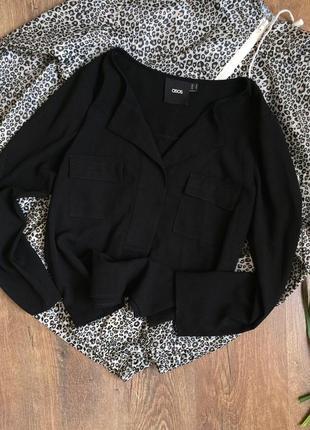 Чорна блузочка від asos